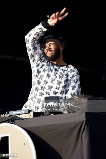MistaJam performs during day 1 of BBC Radio 1's Biggest Weekend 2018 held at Singleton Park on May 26 2018 in Swansea Wales