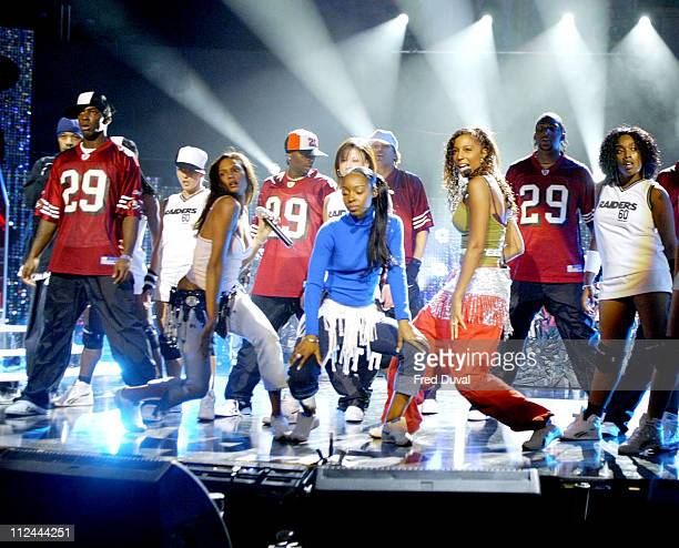 MisTeeq at the rehearsals for the MOBO Awards which was held at the Royal Albert Hall in London