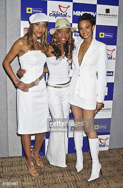 Misteeq attend the 2001 Dancestar Awards at Alexandra Palace on June 7 2001 in London