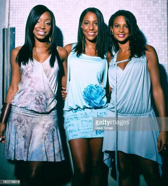 MisTeeq backstage at a TV show London circa 2003 LR Sabrina Washington SuElise Nash and Alesha Dixon