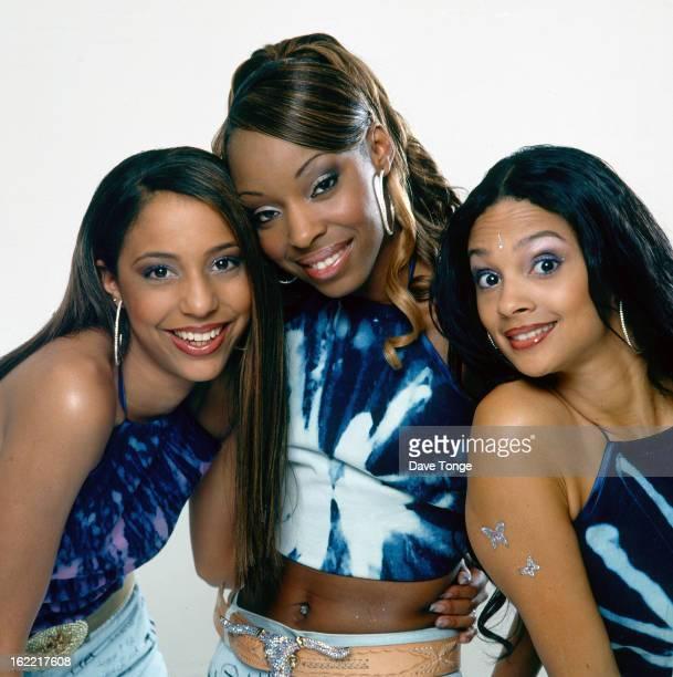 MisTeeq backstage at a TV show London circa 2003 LR SuElise Nash Sabrina Washington and Alesha Dixon