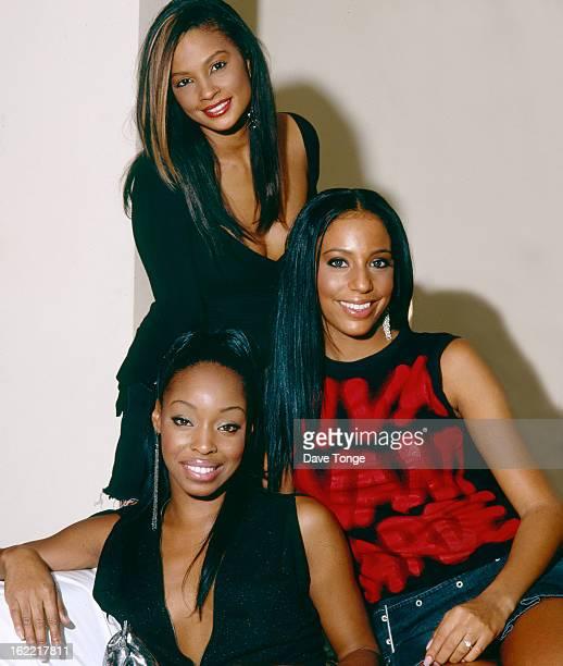MisTeeq backstage at a TV show London circa 2004 Top to bottom Alesha Dixon SuElise Nash and Sabrina Washington