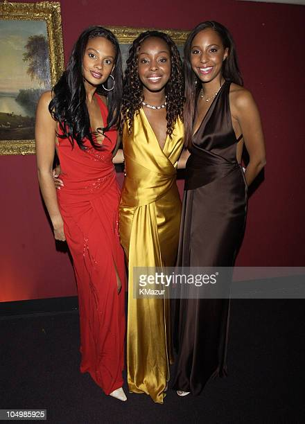 MisTeeq during The White Tie Tiara Ball in London 2002 at Sir Elton John's Windsor home in London England United Kingdom