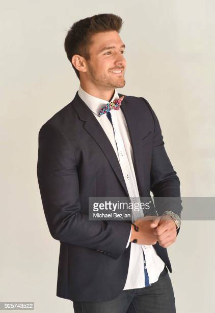 Mister Americas 2017 Cody Ondrick poses for portrait wearing Toohey Ties at The Artists Project Giveback Day on February 28 2018 in Los Angeles...