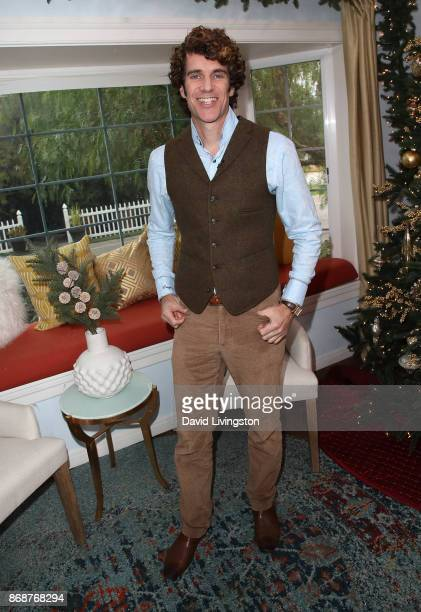 'Mister Manners' Thomas Farley visits Hallmark's 'Home Family' at Universal Studios Hollywood on October 31 2017 in Universal City California