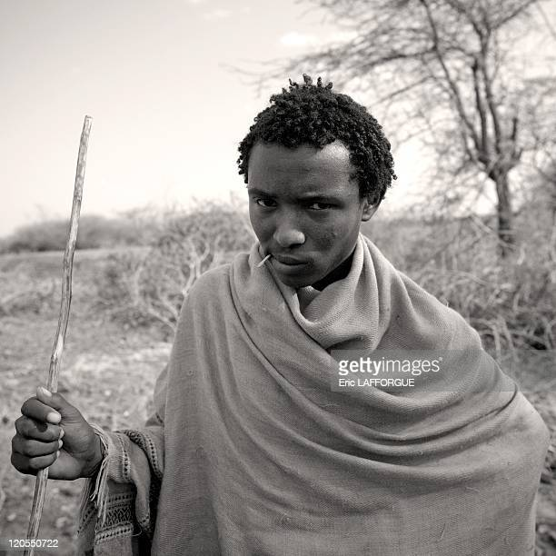 Mister Roba Gilo, Karrayyu tribe, Methara Town in Ethiopia on July 11, 2010 - The Karrayyu are a pastoralist tribe from Ethiopia living in the Awash...