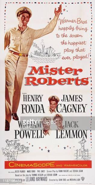 Mister Roberts Henry Fonda vintage movie poster print
