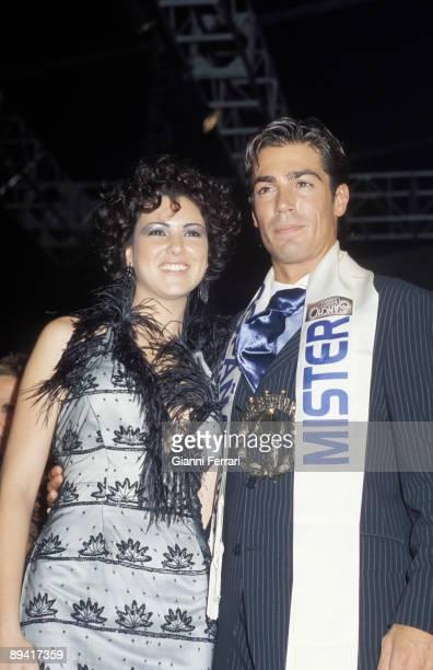 Mister Spain 2004 Portrait of Jose Gomez Rodero Mister Spain with Maria Jesus Ruiz Miss Spain