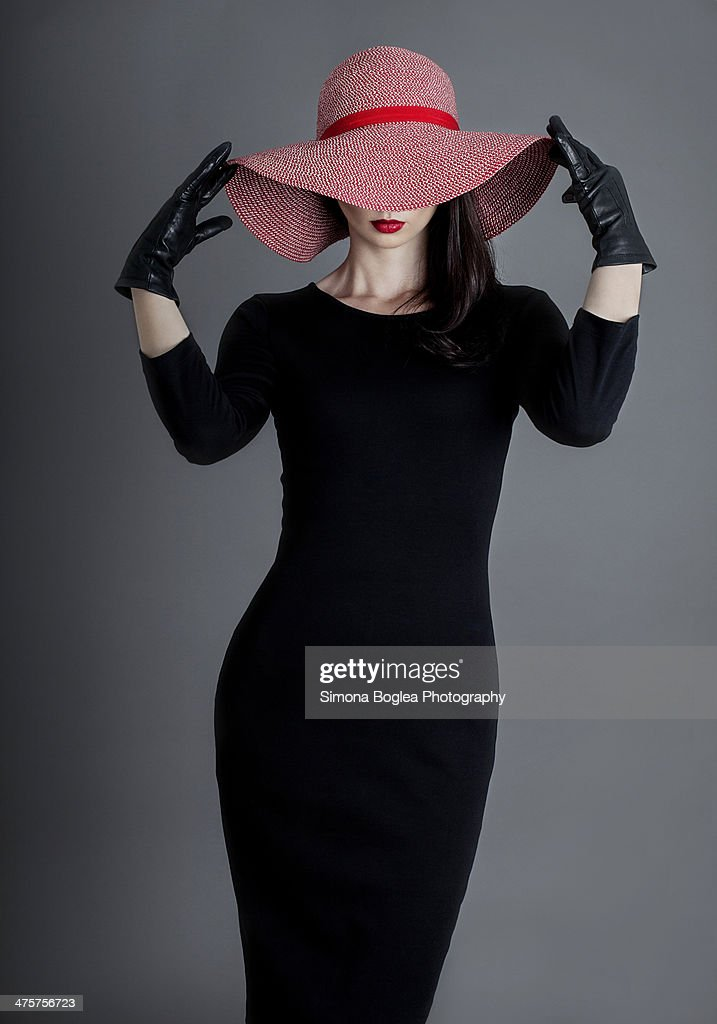 Misterious woman : Stock Photo