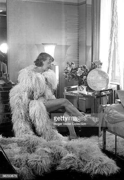 Mistinguett French actress and singer of music hall France about 1934