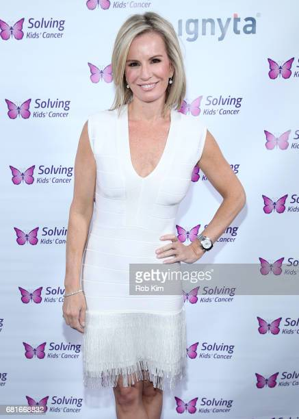 Mistress of Ceremonies Dr Jennifer Ashton attends the Solving Kids' Cancer Spring Celebration 10 Years Of Hope And Healing at Mandarin Oriental New...