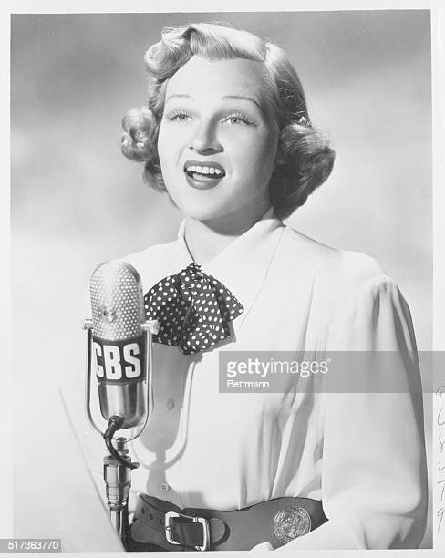 Mistress of Melody Jo Stafford id the popular mistress of melody on CBS' gay Sunday evening musical Carnation Contented Hour Beginning Sunday Oct 8...