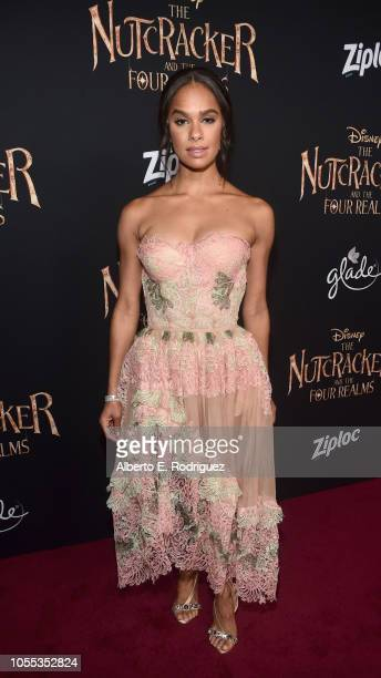 Misty Copeland arrives at the world premiere of Disney's The Nutcracker and the Four Realms October 29th at Hollywood's El Capitan Theatre...