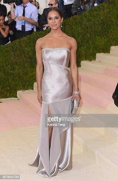 Misty Copeland arrives for the 'Manus x Machina Fashion In An Age Of Technology' Costume Institute Gala at Metropolitan Museum of Art on May 2 2016...