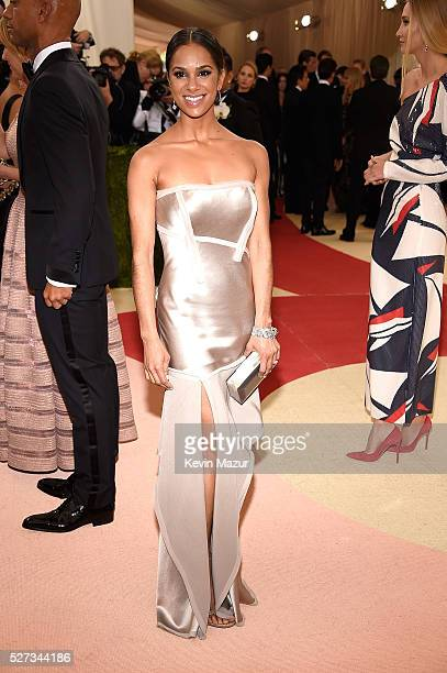 Misty Copeland attends 'Manus x Machina Fashion In An Age Of Technology' Costume Institute Gala at Metropolitan Museum of Art on May 2 2016 in New...