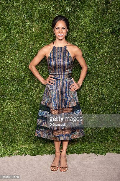 Misty Copeland attends the 12th annual CFDA/Vogue Fashion Fund Awards at Spring Studios on November 2 2015 in New York City