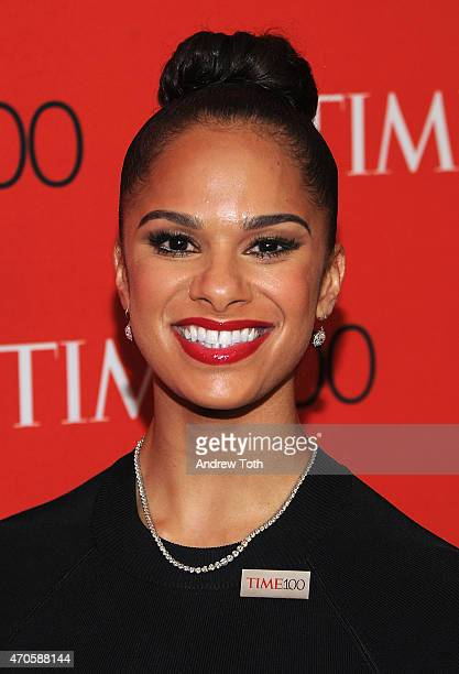 Misty Copeland attends the 2015 Time 100 Gala at Frederick P Rose Hall Jazz at Lincoln Center on April 21 2015 in New York City