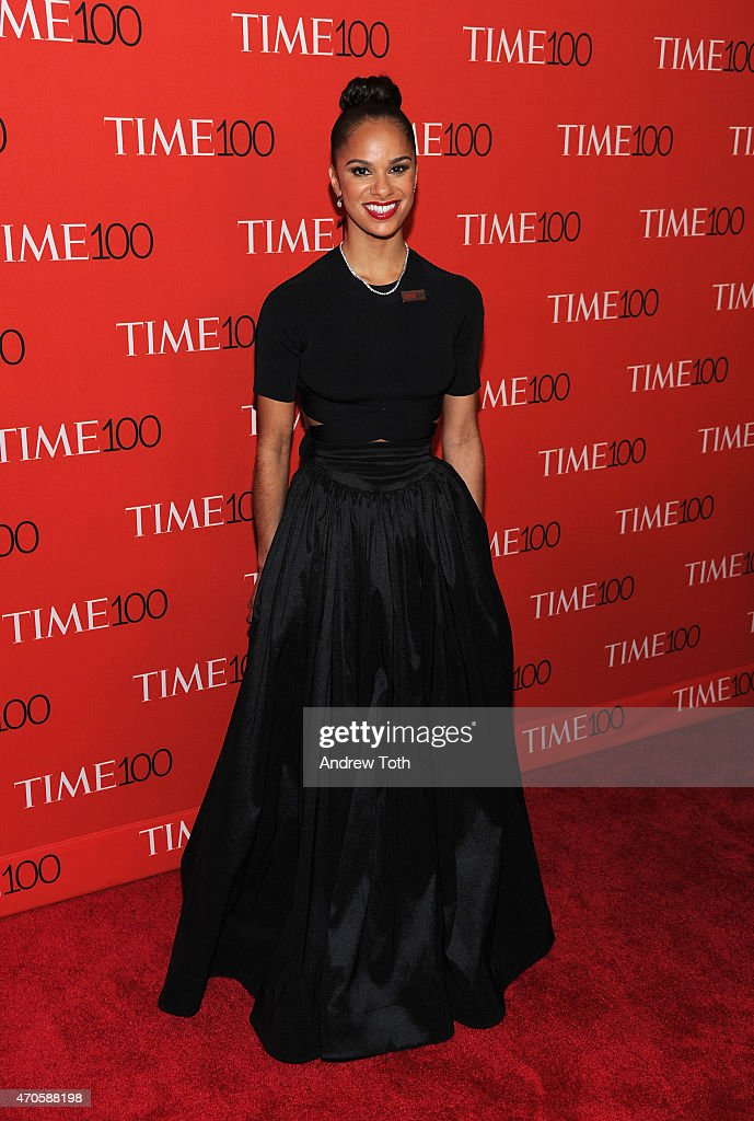 Misty Copeland attends the 2015 Time 100 Gala at Frederick P. Rose Hall, Jazz at Lincoln Center on April 21, 2015 in New York City.