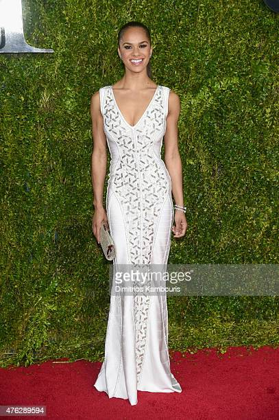 Misty Copeland attends the 2015 Tony Awards at Radio City Music Hall on June 7 2015 in New York City
