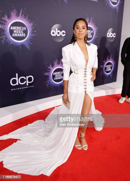 Misty Copeland attends the 2019 American Music Awards at Microsoft Theater on November 24 2019 in Los Angeles California