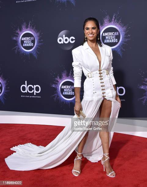 Misty Copeland attends the 2019 American Music Awards at Microsoft Theater on November 24, 2019 in Los Angeles, California.