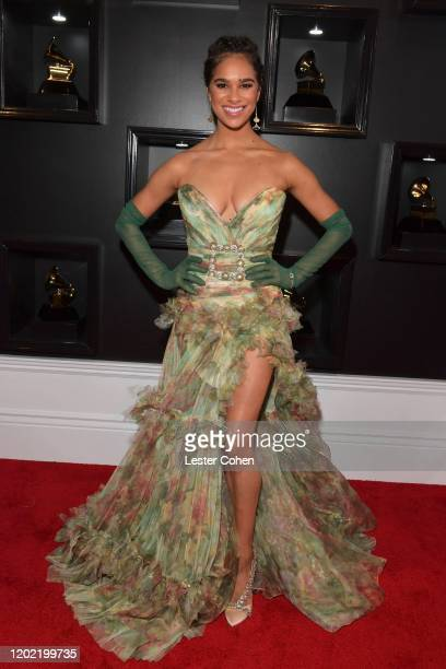 Misty Copeland attends the 62nd Annual GRAMMY Awards at STAPLES Center on January 26 2020 in Los Angeles California
