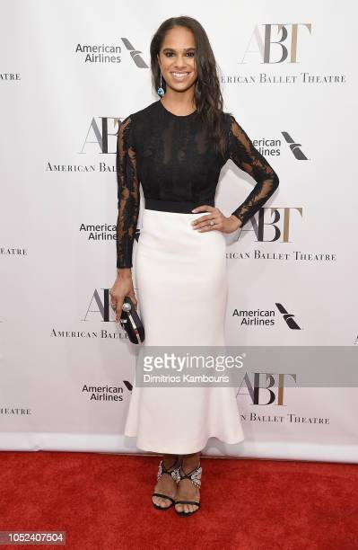 Misty Copeland attends The American Ballet Theatre 2018 Fall Gala at David H Koch Theater Lincoln Center on October 17 2018 in New York City