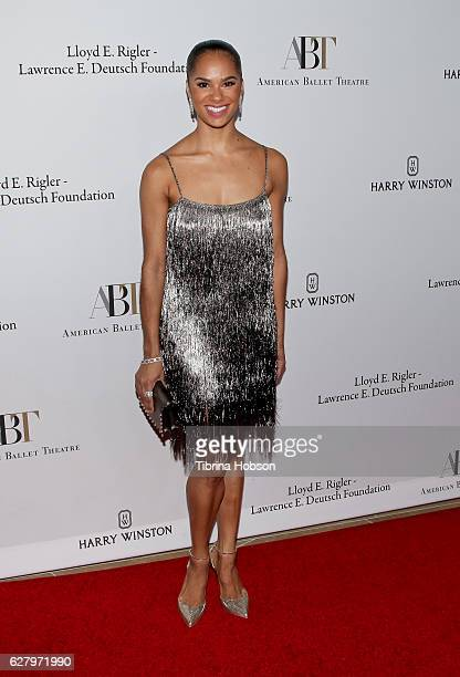 Misty Copeland attends the American Ballet Theatre annual Holiday Benefit at The Beverly Hilton Hotel on December 5 2016 in Beverly Hills California