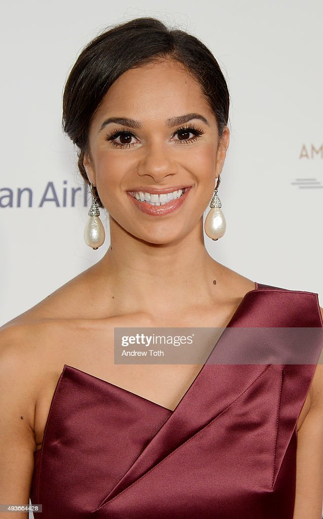 Misty Copeland attends the American Ballet Theatre's 75th Anniversary Gala at David H. Koch Theater, Lincoln Center on October 21, 2015 in New York City.