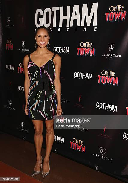 Misty Copeland attends the Gotham Magazine Celebrates Misty Copeland's Broadway Debut In On The Town on August 25 2015 in New York City