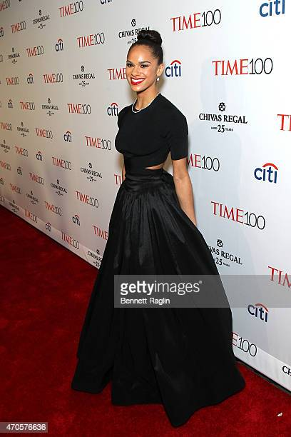 Misty Copeland attends the TIME 100 Gala TIME's 100 Most Influential People In The World at Jazz at Lincoln Center on April 21 2015 in New York City