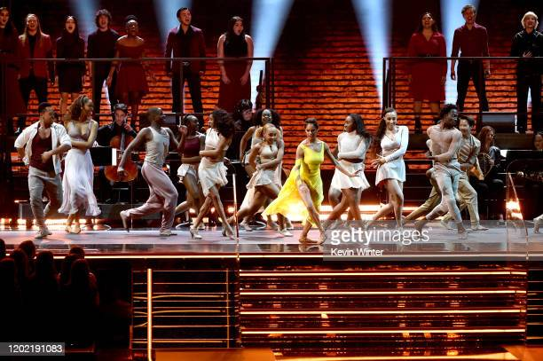 Misty Copeland performs onstage during the 62nd Annual GRAMMY Awards at STAPLES Center on January 26 2020 in Los Angeles California
