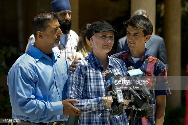 Misty Holt-Singh was killed during the shootout between Stockton, Calif., police officers and bank robbers on July 16, 2014. Her sister, Dawn Holt,...