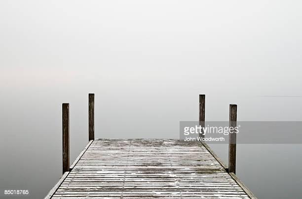 Misty jetty