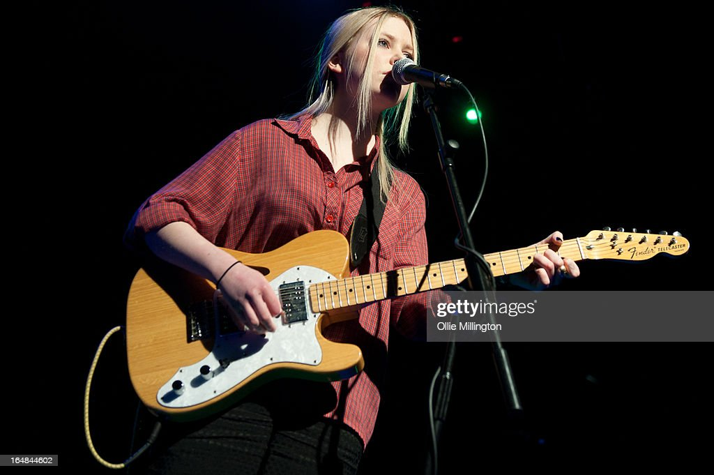 Misty Miller performs onstage supporting Jake Bugg on his March 2013 UK tour at o2 Academy on March 28, 2013 in Leicester, England.