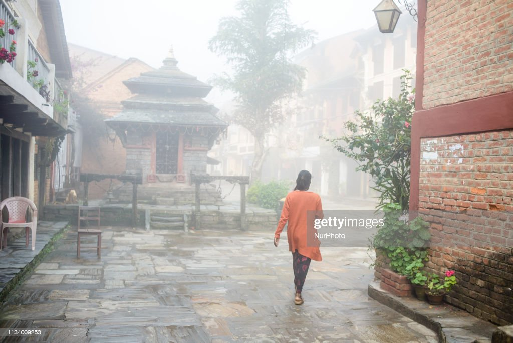 Daily Life In Bandipur, Nepal : News Photo