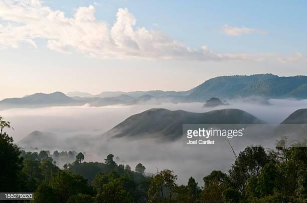 ミスティ山のミャンマー