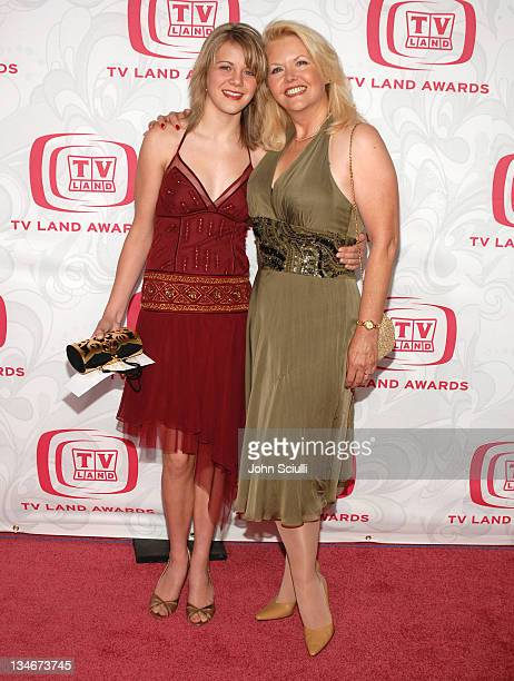 Misty Rowe during 5th Annual TV Land Awards Arrivals at Barker Hanger in Santa Monica CA United States