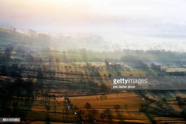 Misty Sunrise, Mam Tor, Castleton, Peak District, Derbyshire, England