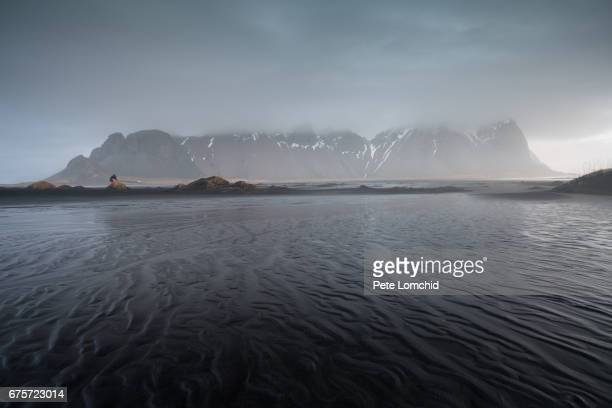 Misty Vestrahorn, Iceland