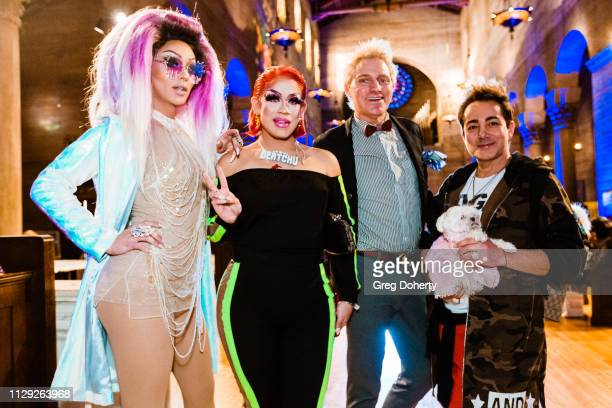 Misty Violet Marta BeatChu Patrick Simpson and Pol Atteu attend Sanctuary Fashion Week on March 7 2019 in Los Angeles California