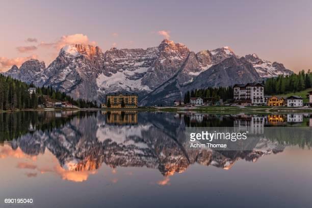 Misurina Lake, Dolomite Alps, Italy, Europe
