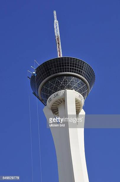 Mit 350 Metern Höhe ist der Stratosphere Tower einer der höchsten Aussichtstürme der Welt