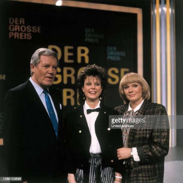 Mit neuer Assistentin KAROLINE REINHARDT und BEATE HOPF,1988.