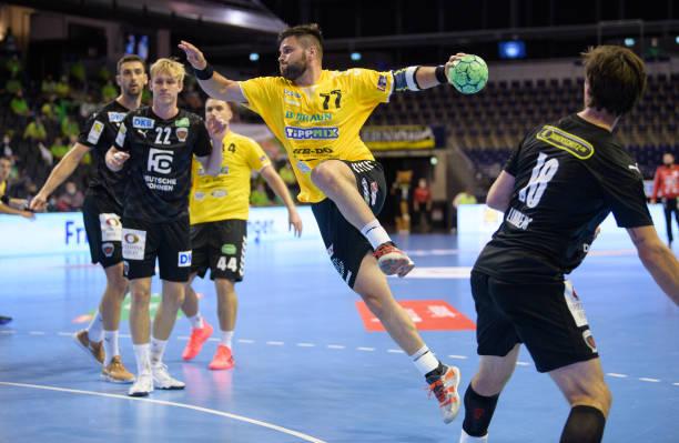 DEU: EHF-CUP - Fuechse Berlin v Gyoengyoesi KK