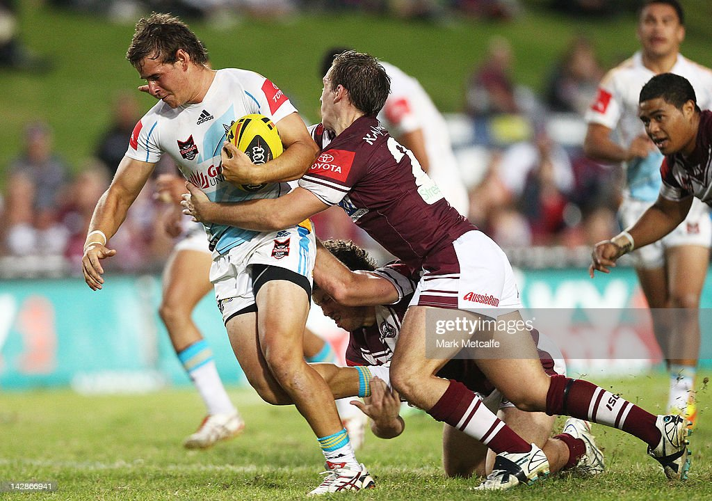 Toyota Cup Rd 7 - Sea Eagles v Titans