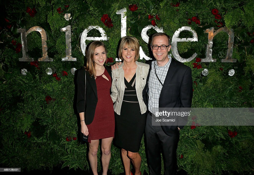 Nielsen Hosts Pre GRAMMY Award Celebration At The Mondrian Los Angeles : News Photo