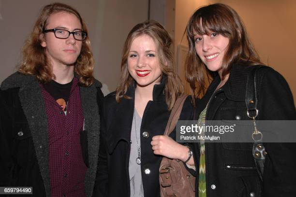 Mitch Black Heather McKenna and Elle Rotstein attend RACHEL HOVNANIAN opening reception POWER BURDEN OF BEAUTY at Jason McCoy Gallery on November 5...