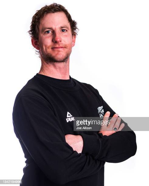 Mitch Brown poses during the NZOC Snow Sports Workshop at Edgewater Hotel on September 22, 2021 in Wanaka, New Zealand.