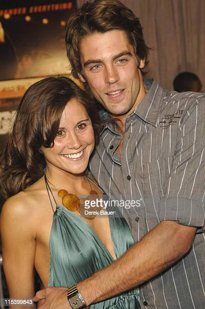 """Mitch Eakins and guest during Walt Disney Pictures and Jerry Bruckheimer Films' Premiere """"Glory Road"""" at Pantages Theatre in Hollywood, California,..."""